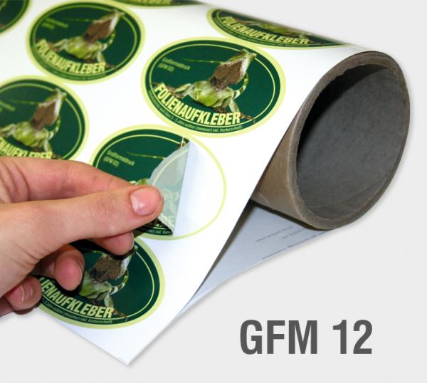 GFM 12 - Selbstklebefolie 80 µm, transluzent (polymer)